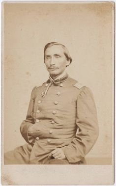 Colonel Lewis Downing (the son of Samuel Downing and Susan Daugherty-Downing) - Cherokee - circa 1865