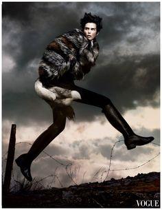 """Stella Tennant by David Sims 2011 """