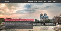 Sparkling: free WordPress theme - hooed.com