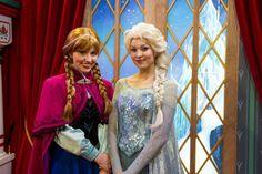 Frozen Anna Elsa Disney World | Anna y Elsa de la película Frozen. Foto Walt Disney World.