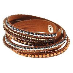 TJeanny Armbänder Leder / Strass Vintage / Niedlich / Par…