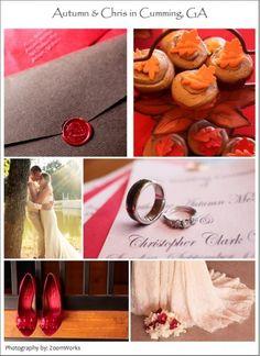 Real Weddings Autumn  Chris in Cumming, GA By  Elegant Weddings on a Budget wedding-ideas