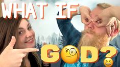 What If God? - Truthful, Comedic, Rapid Fire Statements About God #YouTube #comedy #christiancouples #video #podcast #trppodcast #jesustalks #God #whatif