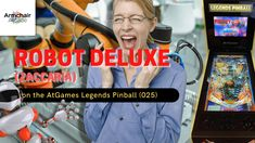 Gameplay video of Robot Deluxe (Zaccaria) on the AtGames Legends Pinball (025) - Armchair Arcade