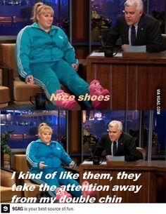 This woman! haha