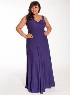 Avril Maxi Dress in Violet with Shrug. LOVE THIS DRESS