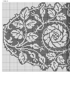Crochet Tablecloth Pattern, Filet Crochet Charts, Crochet Books, Table Clothes, Farmhouse Rugs, Cross Stitch, Crochet Edgings, Knit Patterns, Table Toppers