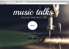 Music Talks | Discover New Music