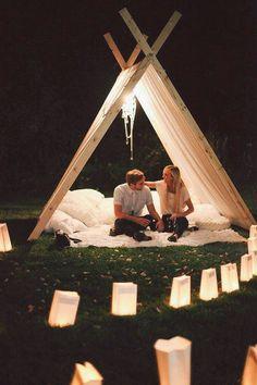 Tent Surprise
