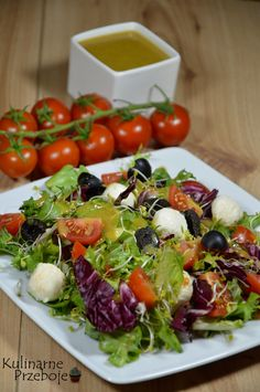 Mozzarella Archives - KulinarnePrzeboje.pl Mozzarella, Cobb Salad, Cabbage, Vegetables, Cooking, Recipes, Food, Diet, Cucina