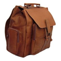 Cape Cod Leather Large Island Premium Leather Backpack