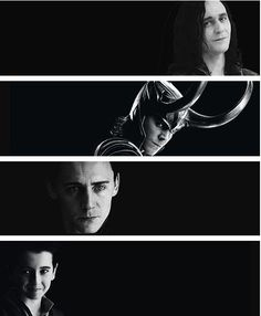 the evolution of Loki.  so many feels  (whoever created this collage, thank you!)