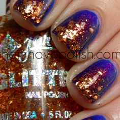 I would buy an entire outfit to coordinate this polish...