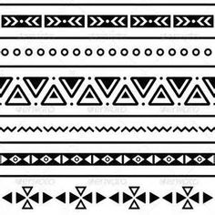 aztec print black and white - Yahoo Image Search Results