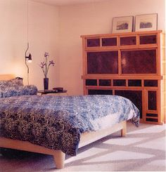 """Kitchen chest in a bedroom From the book """"Japanese Cabinetry"""" - Insight Design"""