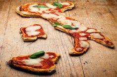 pizza patriottica---MI DISSOCIO COMPLETAMENTE DA QUESTA PATETICA-PATRIOTICA- BOIATA! MI SON VENETO...E MAGNO POLENTA!!! STAMMI BENE CARMELA.