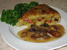 Babka ziemniaczana to potrawa prosta, treściwa i sycąca. Szczególnie polecam miłośnikom dań ziemniaczanych