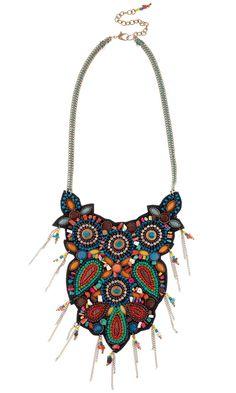 New Look Summer 2013 Embellished Necklace