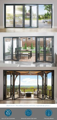 Industrial Door, Thermal Insulation, Folding Doors, Wooden Case, Western Union, Clean Design, Building Materials, Aluminium Alloy, Glass Door