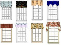 window valance patterns
