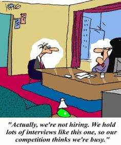 Interview frustration!