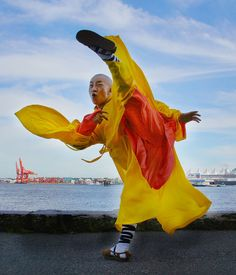 The Blind Ninja           - Shaolin Temple Master Yuan Shi Xing Wu Tai Chi...