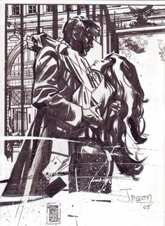 Rogue & Gambit by John Paul Leon