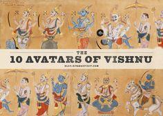 10 Avatars Of Vishnu - Sivana Blog « Sivana Blog
