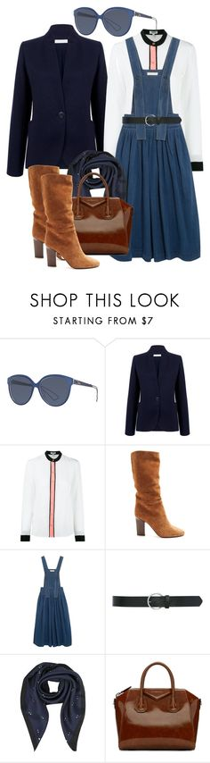 """fm#431"" by u-929 ❤ liked on Polyvore featuring Christian Dior, Atea Oceanie, Kenzo, Samuele Failli, Chloé, M&Co and Givenchy"