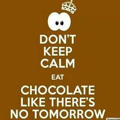 keep calm and....