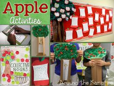 Apple Unit Ideas for Classrooms and home #preschool