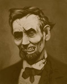 Zombie Presidents Paintings and Illustrations.