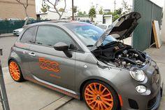 Our own Custom FIAT 500 ABARTH.  www.500MADNESS.com