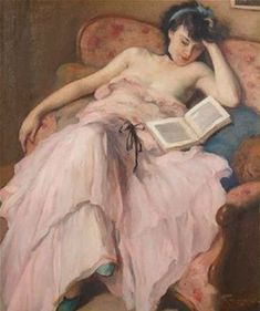 """Anna Mazzola on Twitter: """"Hate it when you're reading and your boobs fall out.… """" People Reading, Woman Reading, Georges Seurat, Image Avatar, Maurice Utrillo, Post Impressionism, Renoir, Art Studies, Female Art"""