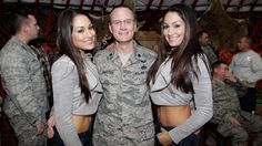 The Bella Twins WWE Tribute to the Troops 2011