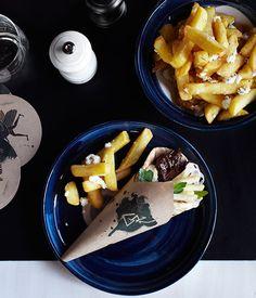 Australian Gourmet Traveller recipe for beef brisket souva by George Calombaris.