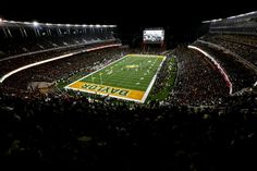 Blackout game at Baylor's McLane Stadium. Rain or shine, win or lose, you won't find a better gameday atmosphere than McLane Stadium!