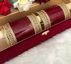 Bridal Bangles, Bridal Jewelry Sets, Bridal Accessories, Wedding Jewelry, Bridal Jewellery, Wedding Chura, Indian Wedding Bride, Bangle Ceremony, Bridal Chuda