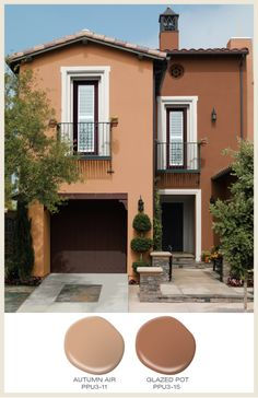 Southwest Style Home Exterior Colors And Deserts On Pinterest