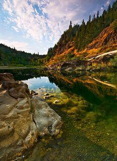 Eel River, Humboldt Redwoods State Park, California
