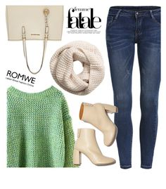 """""""Greeny"""" by karicarmina ❤ liked on Polyvore featuring MICHAEL Michael Kors, H&M and STELLA McCARTNEY"""