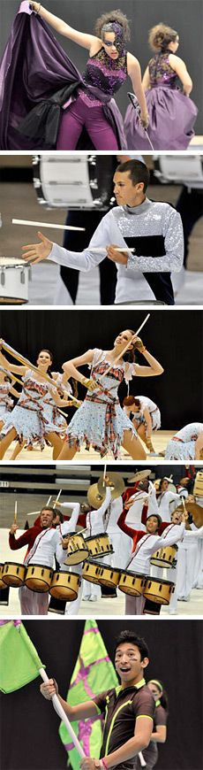 Winter guard and percussion circuits gear up for 2012 championship events