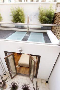 It's all about light Roof Light, Pergola Patio, Alcove, Bespoke, Basement, Bathtub, Construction, Windows, London