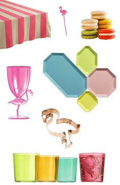 flamingo party decor ideas