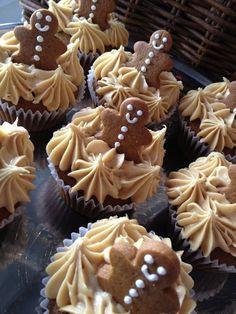 Gingerbread Cupcakes Print Dig-in High cal Calories 423kcal High fat...