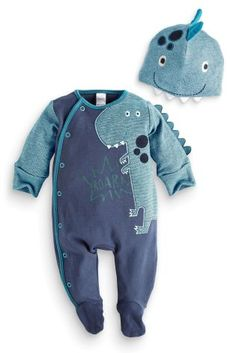 £12 Buy Dino Dress Up With Hat (0mths-2yrs) from the Next UK online shop