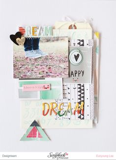 LAYOUT - DREAM by EyoungLee at @studio_calico