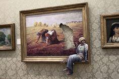 "Banksy ""Agency Job"" photo via ahisgett  (Flickr)"