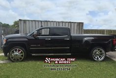 Gmc sierra denali 3500 dually trucks pinterest gmc sierra 2014 gmc sierra 3500 hd denali dually with 26 american force independence polished wheels publicscrutiny Image collections
