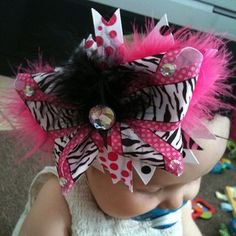 haha i think bows this big are a little ridiculous if they wear them on an everyday basis! but i guess to each their own!